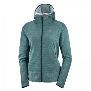 Bluza Salomon Right Nice Mid Hoodie W Green Gables