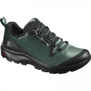 Buty Salomon Vaya GTX Black/Balsam Green