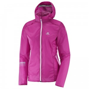 Kurtka Salomon Lightning Wind Hoodie W Rose