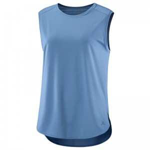 Koszulka Salomon Comet Breeze Tank W Copen Blue