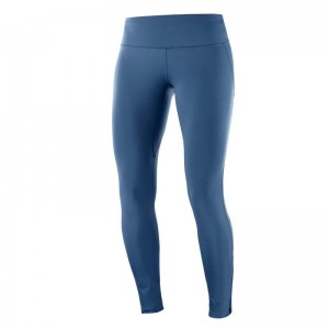 Getry Salomon Agile Warm Tight W Dark Denim