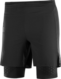 Spodenki Salomon EXO Motion Twinskin Short M Black