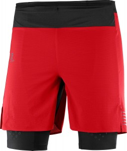 Spodenki Salomon EXO Motion Twinskin Short M Goji Berry