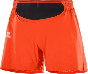 Spodenki Salomon Sense Pro Short M Cherry Tomato Black