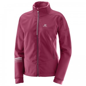 Kurtka Salomon Lightning Warm Softshell W B.Red