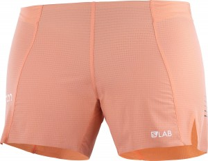 Spodenki Salomon S-LAB Short W Papaya Punch