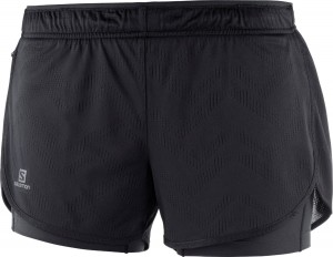 Spodenki Salomon Agile 2in1 Short W Black