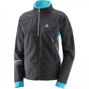 Kurtka Salomon Lightning Warm Softshell W Bl/Blu