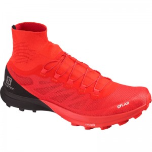 Buty Salomon S/LAB Sense 8 SG Racing Red/Black