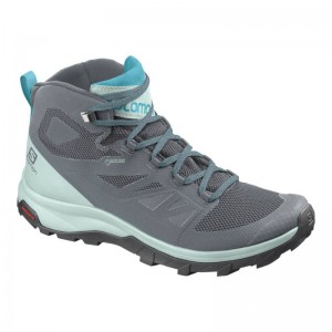 Buty Salomon OUTline Mid GTX W Stormy Weather/Icy Morn
