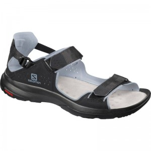 Sandały Salomon Tech Sandal Feel Black/Flint Stone