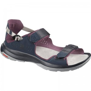 Sandały Salomon Tech Sandal Feel Navy Blaze/Winetas