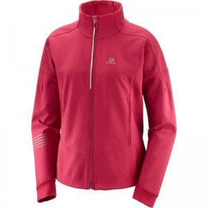 Kurtka Salomon Lightning Warm Softshell Rio Red