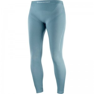 Spodnie Salomon Primo Warm Tight Seamless W Smoke Blue