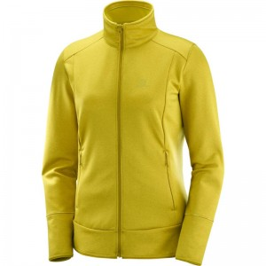Bluza Salomon Discovery FZ W Golden Palm