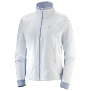 Kurtka Salomon Lightning Warm Softshell W White