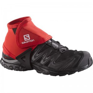 Stuptuty Salomon Trail Gaiters Low Red