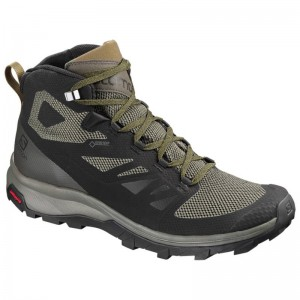Buty Salomon Outline Mid GTX Black