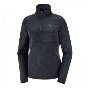 Bluza Salomon TRANSITION HZ W Black/Heather