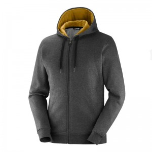 Bluza Salomon Shift FZ Hoodie Black/Heather