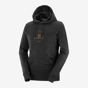 Bluza Salomon Shift Hoodie Black/Aprico Orange