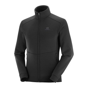 Bluza Salomon Radiant FZ Black
