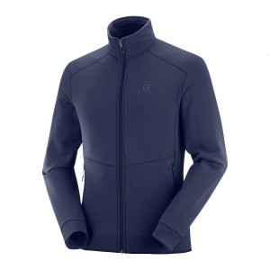 Bluza Salomon Radiant FZ Night Sky