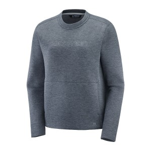 Bluza Salomon Sight Crew Neck W Ebony/Alloy