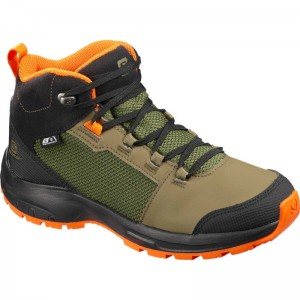 Buty Salomon OUTward CSWP J Burnt Olive