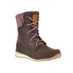 Buty Salomon Hime Mid Absolute Brown/Light Grey