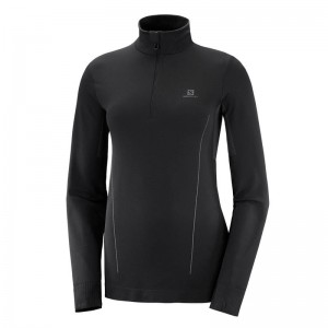 Bluza Salomon Comet Seamless HZ W Black/Ebony