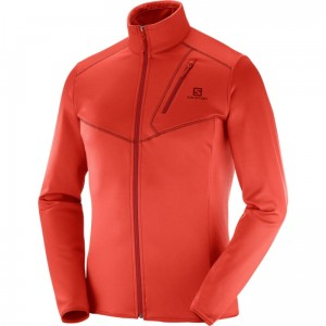 Bluza Salomon Discovery FZ Fiery Red