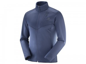 Bluza Salomon Discovery FZ Night Sky