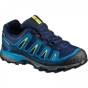 Buty Salomon X Ultra GTX J Blue Depth