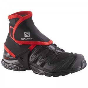 Stuptuty Salomon Trail Gaiters High Black