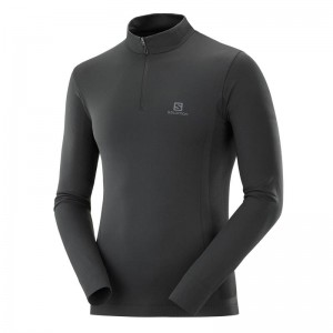 Bluza Salomon Explore Seamless Hz Black