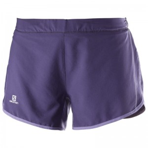 Spodenki Salomon Agile Short W Purple