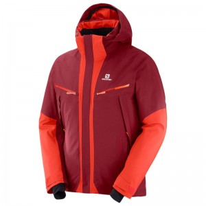 Kurtka Salomon Icecool Biking Red