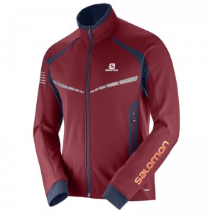Kurtka Salomon RS Warm SoftShell Biking Red