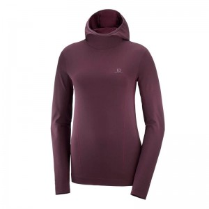 Bluza Salomon Comet Seamless HZ W Winetasting
